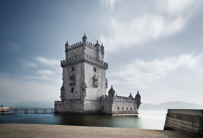 Photograph Torre de Belém by Rubén Toquero on 500px