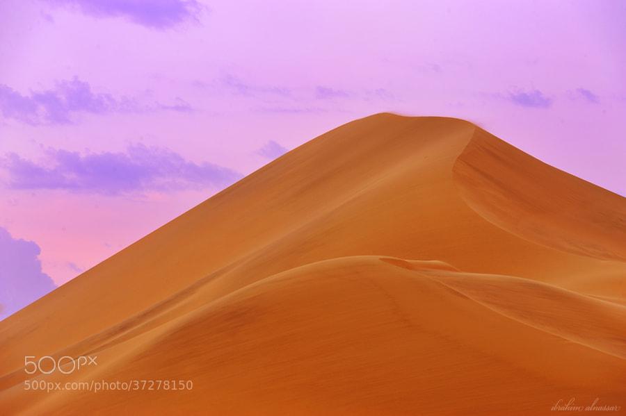 Photograph Desert by Ibraheem Alnassar on 500px
