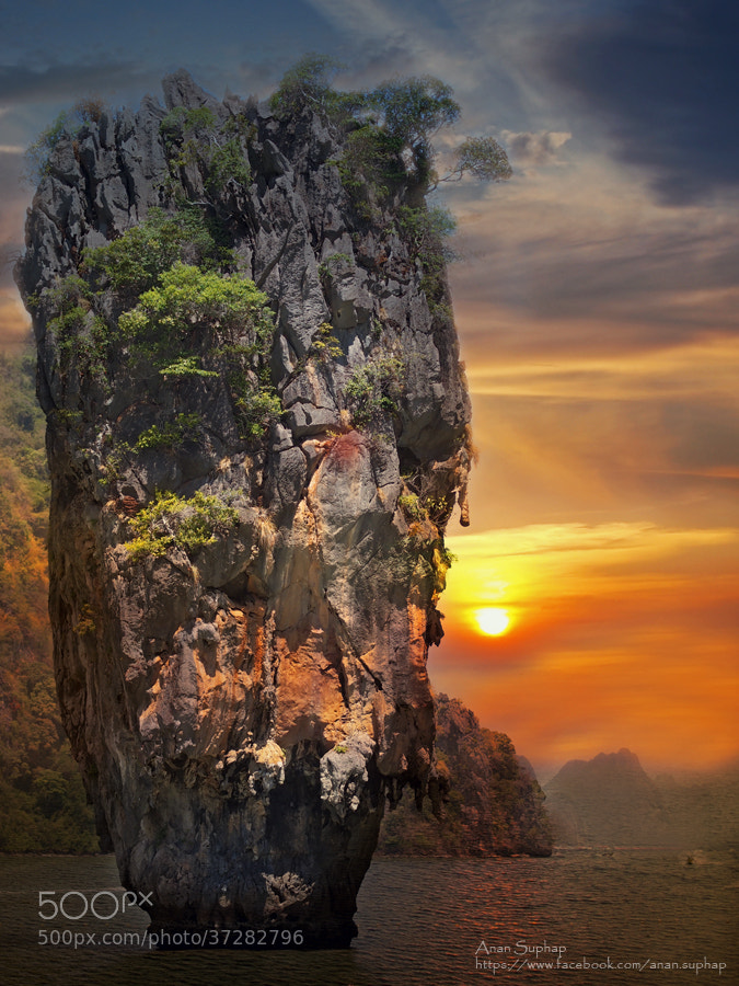 Photograph Ko Tapu Phang Nga Thailand  by Anan Suphap on 500px