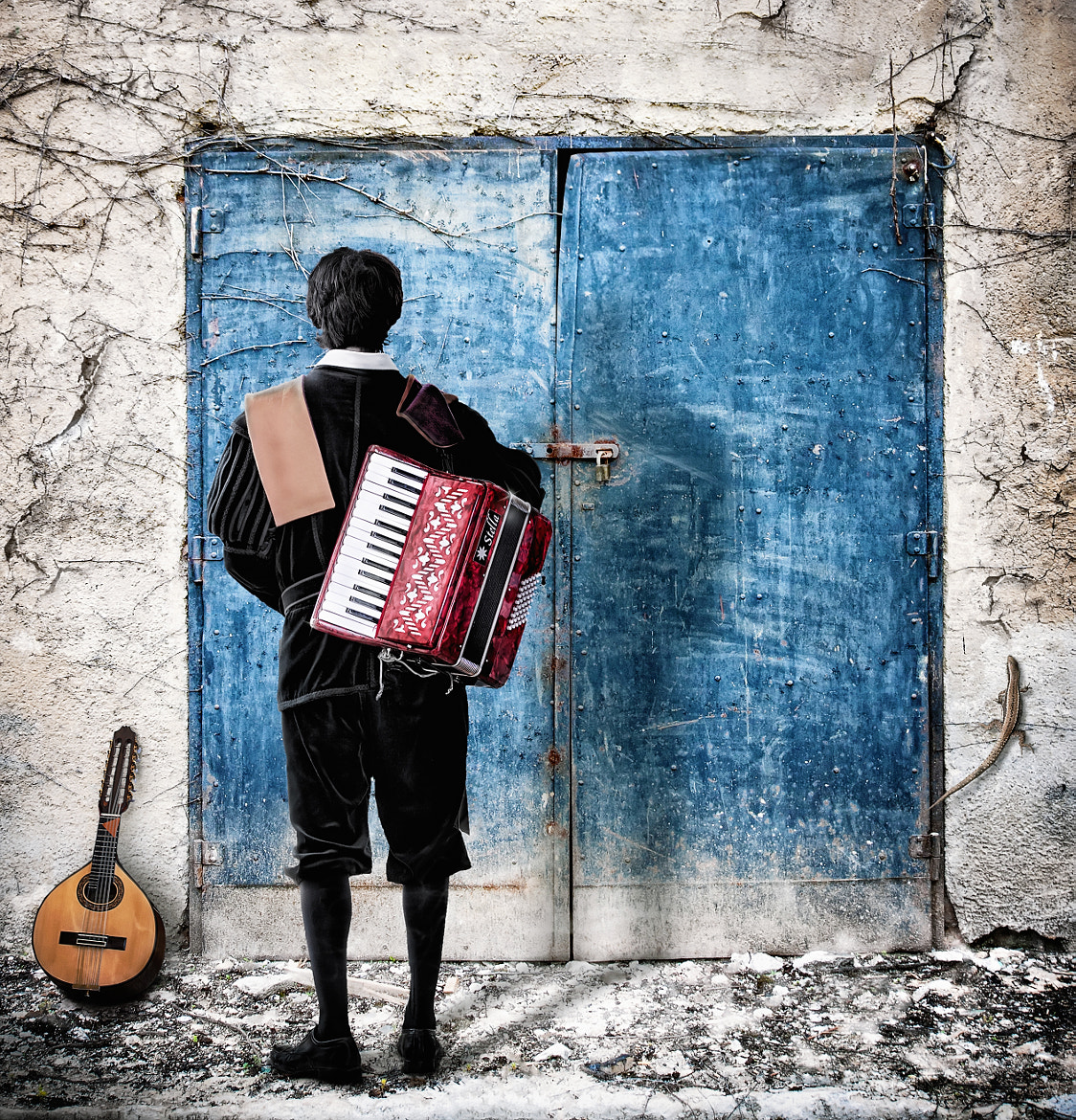 Photograph Musician at the door by Nermin Smajić on 500px