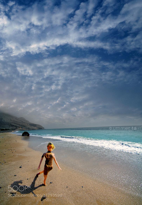 Photograph Barbiegirl in beach by Artist Ummer Ta  on 500px