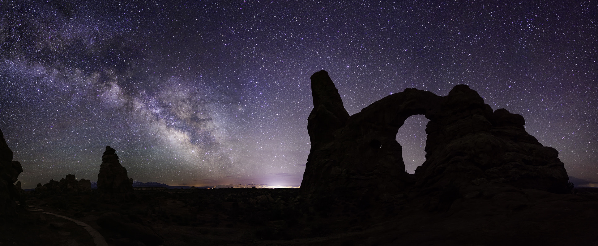 Photograph Turret Arch Nightly View by Scott Ackerman on 500px