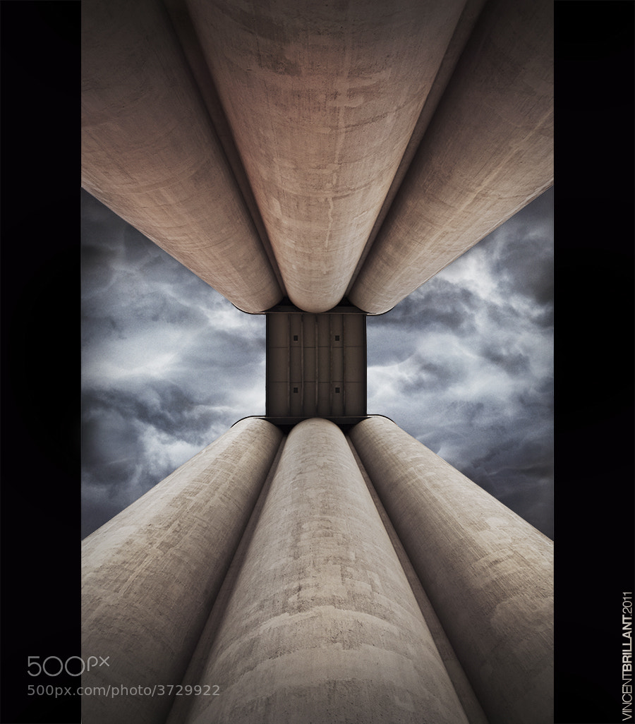 Photograph Silos updated by Vincent  Brillant on 500px