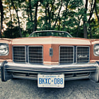 Постер, плакат: 1975 Oldsmobile Delta 88 Royale Convertible