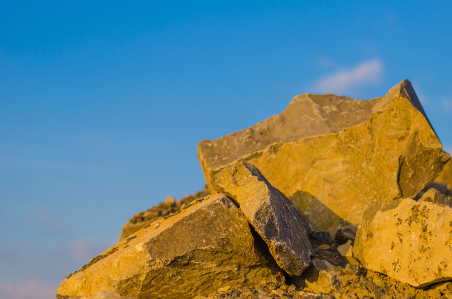 Photograph stone in the sun by Gunter Werner on 500px