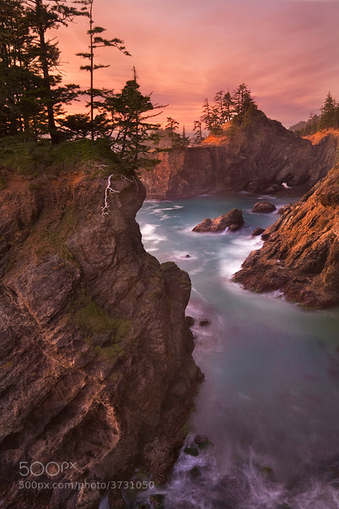 Photograph Hidden Cove by David Cobb on 500px
