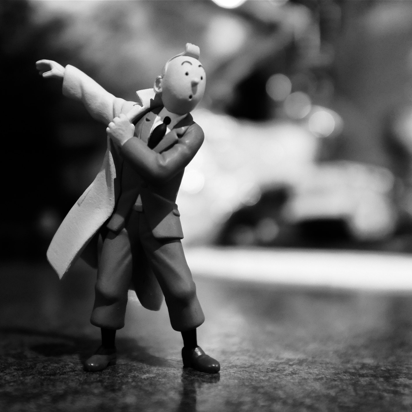 Photograph Tintin - Action Reporter by Mark Prince on 500px