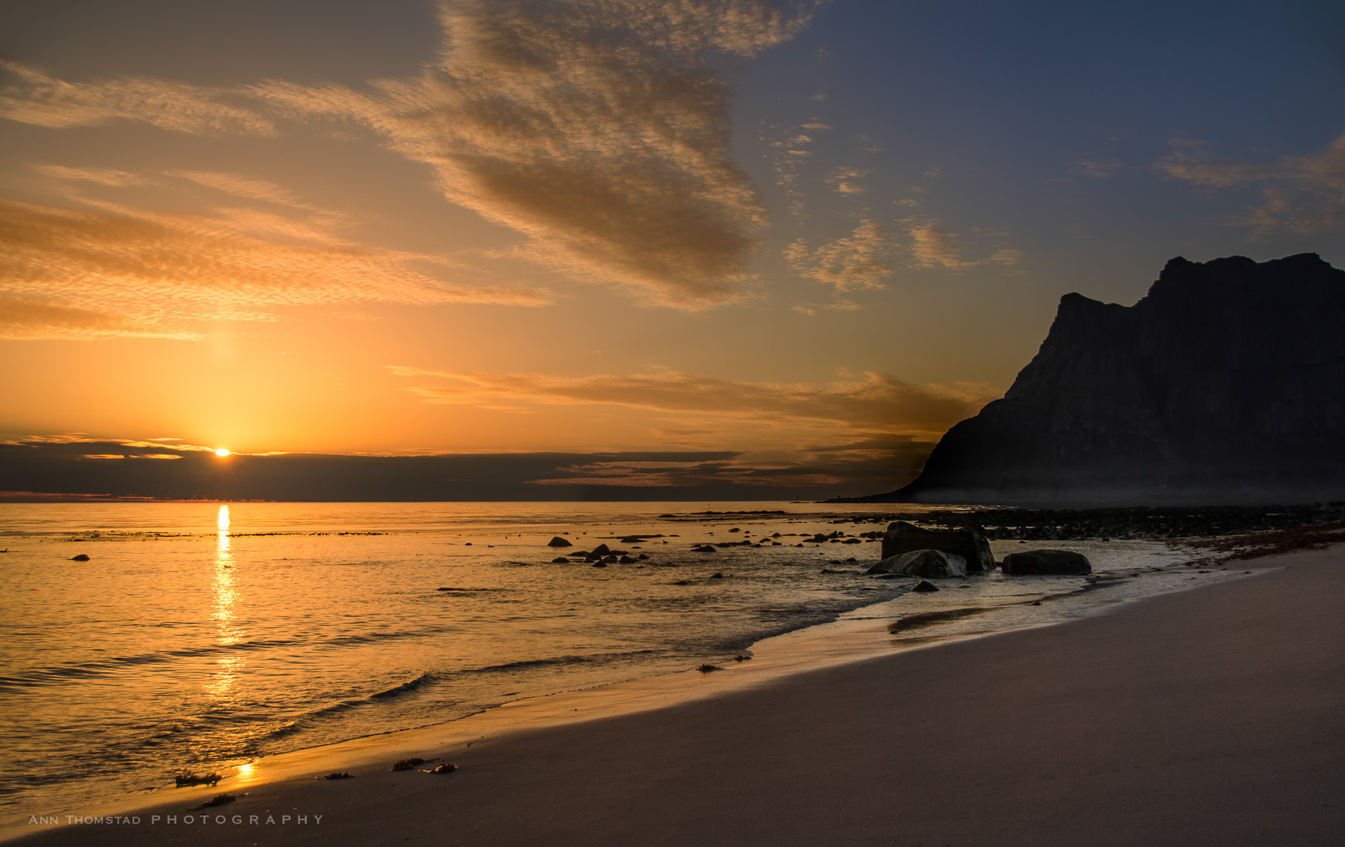 Photograph Midnight Sun by Ann Thomstad on 500px