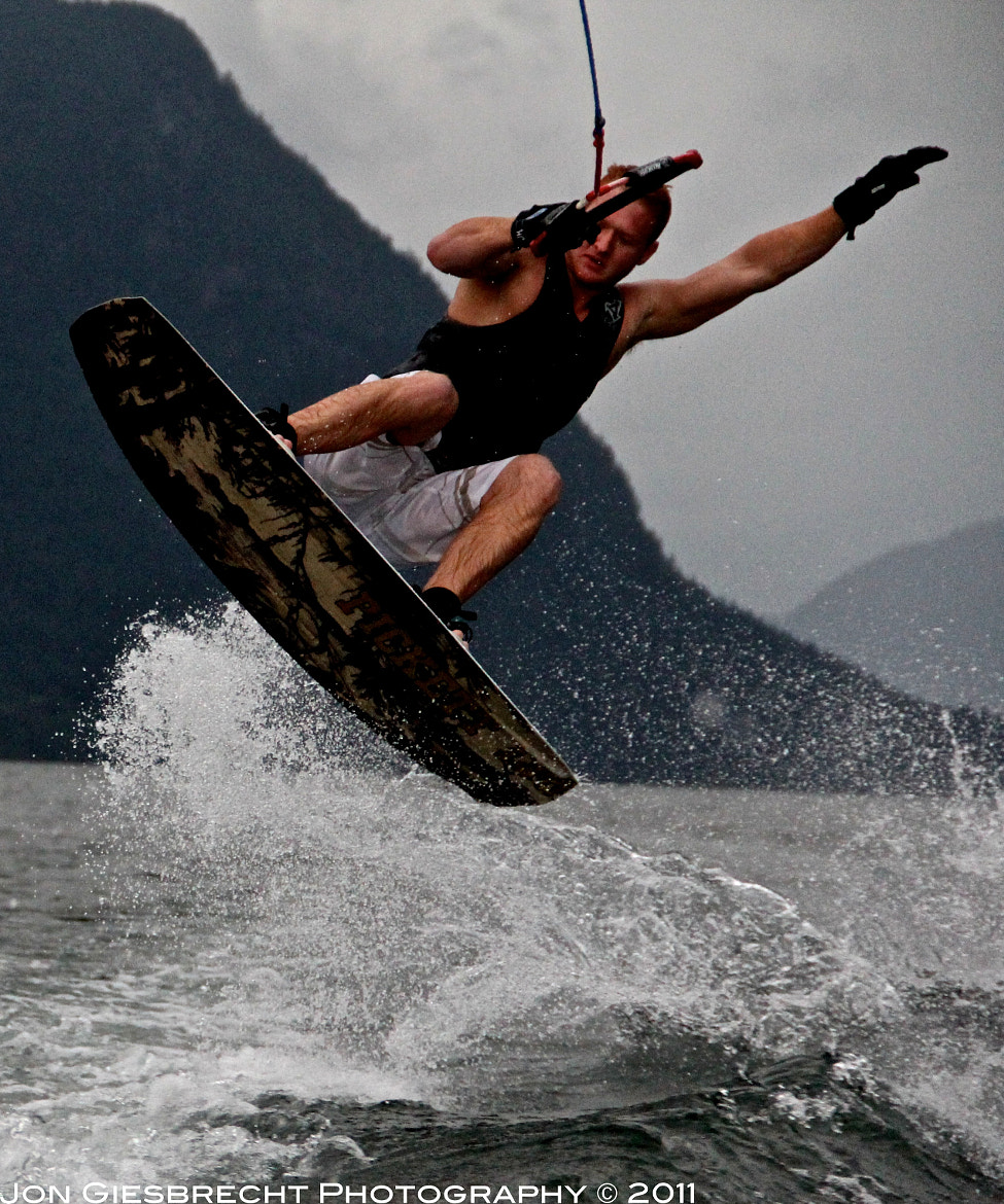 Photograph Wakeboarding in Action by Jon Giesbrecht on 500px
