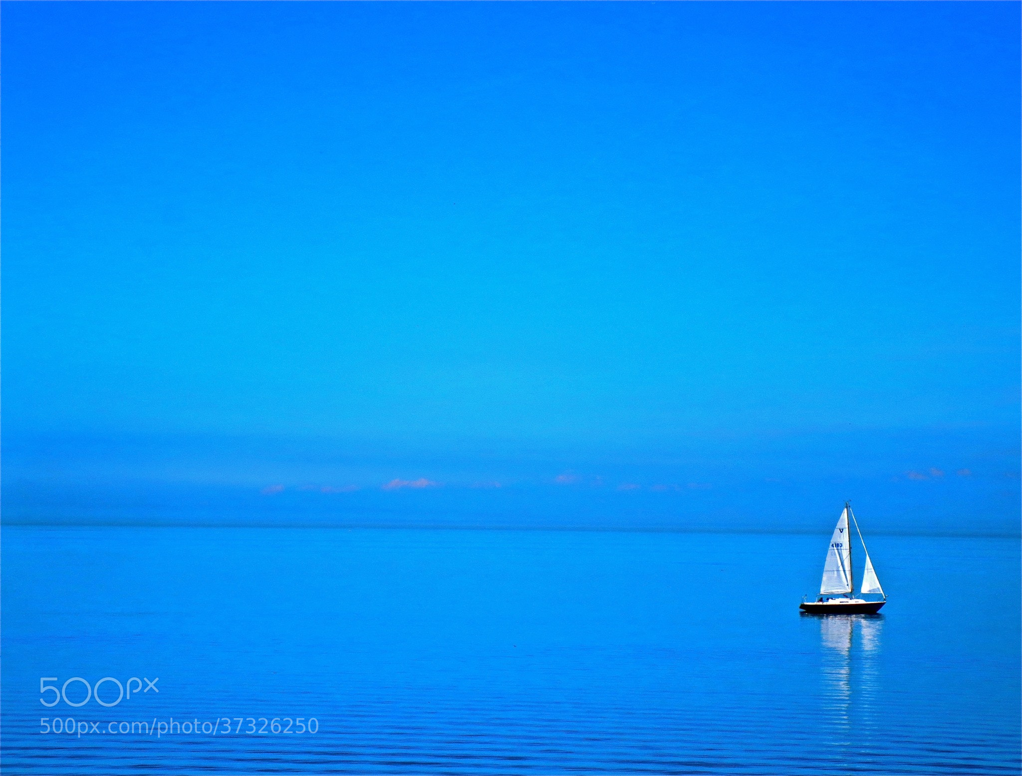 Photograph Sailing the Blues by Kevin Haggith on 500px