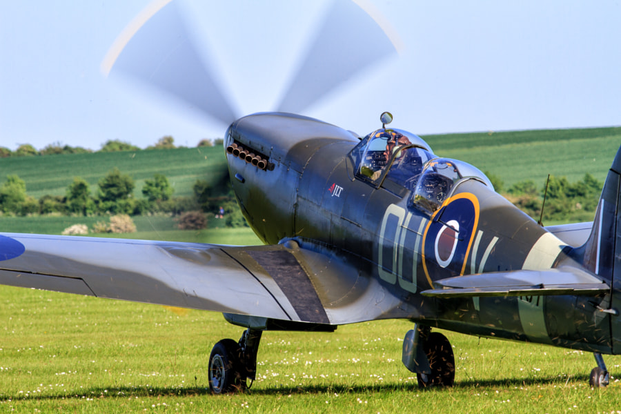 Spitfire Ready for Takeoff