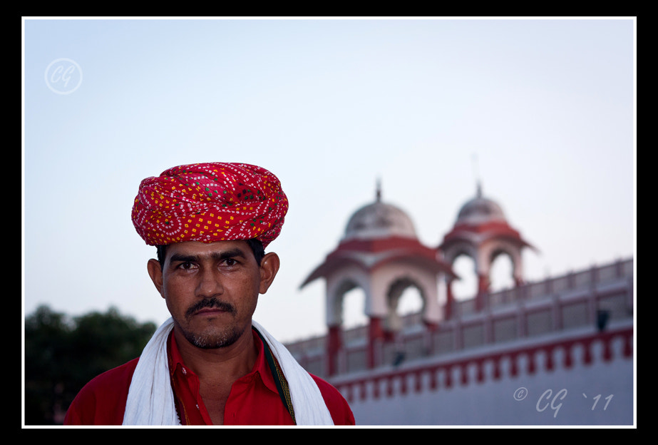 Photograph Rajasthani Porter by Cyriac George on 500px