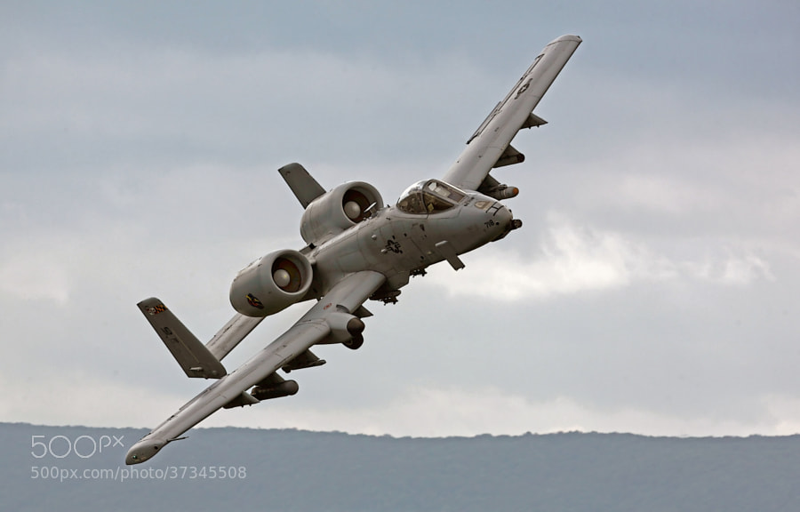 A-10C Thunderbolt II practicing CAS, Close Air Support on the Grant Bollen Bomb Range, Fort Indiantown Gap, Pennsylvania.