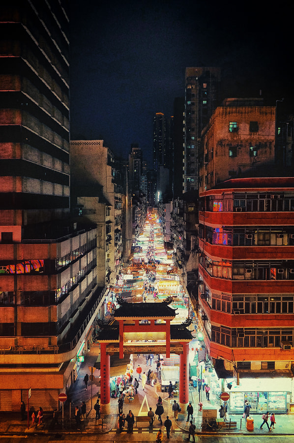Photograph Temple Street by Jared Lim on 500px