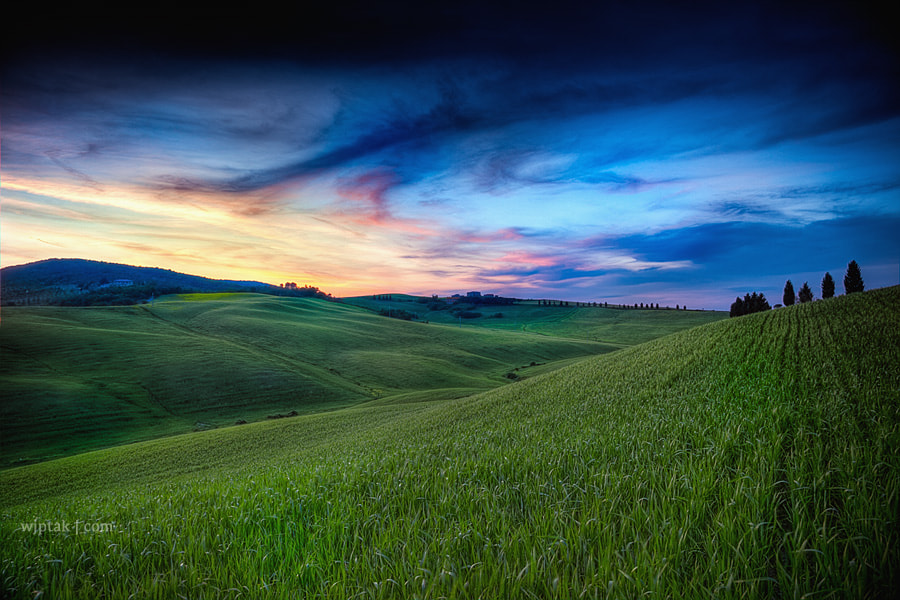 Photograph Tuscan Sunset by wjptak on 500px
