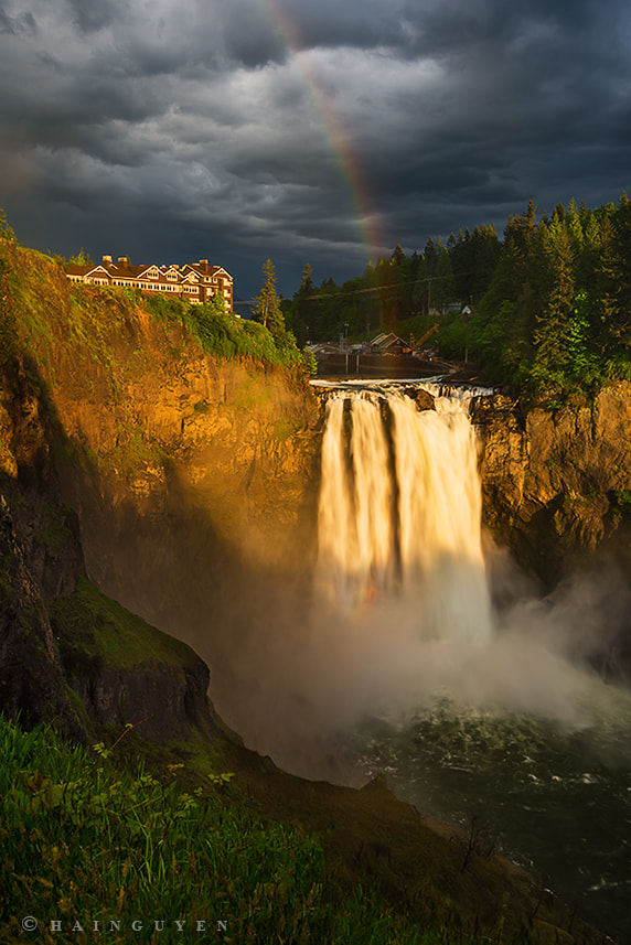 Photograph Snoqualmie's Bow by Hai Nguyen on 500px