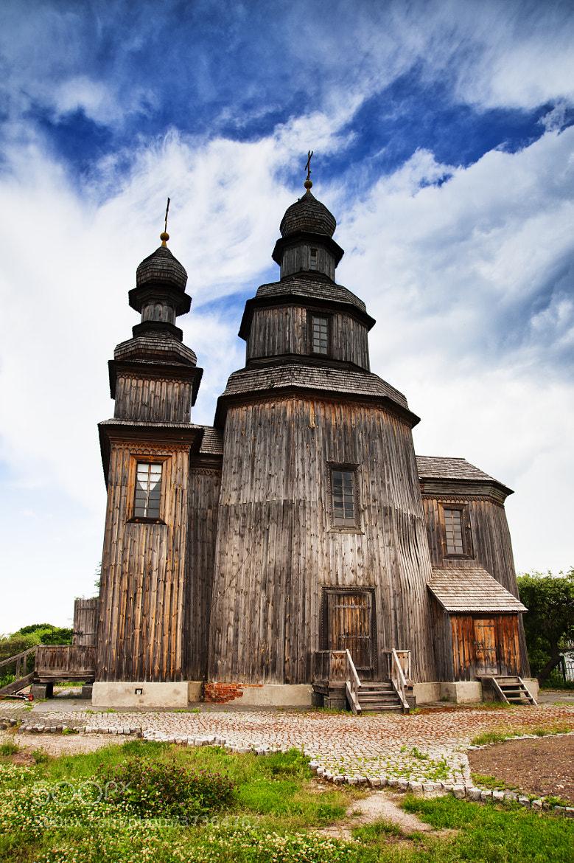 Photograph Георгиевская деревянная церковь 18ст. by Viktoria Bendyk on 500px