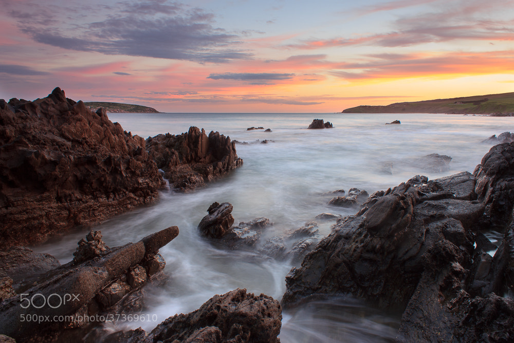 Photograph last light petrel cove by Sam Clark on 500px