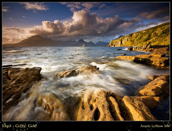Photograph Golden Elgol by Angie Latham on 500px