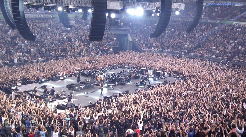 Photograph Metallica, Sydney 2010 by Ian Stanaway on 500px
