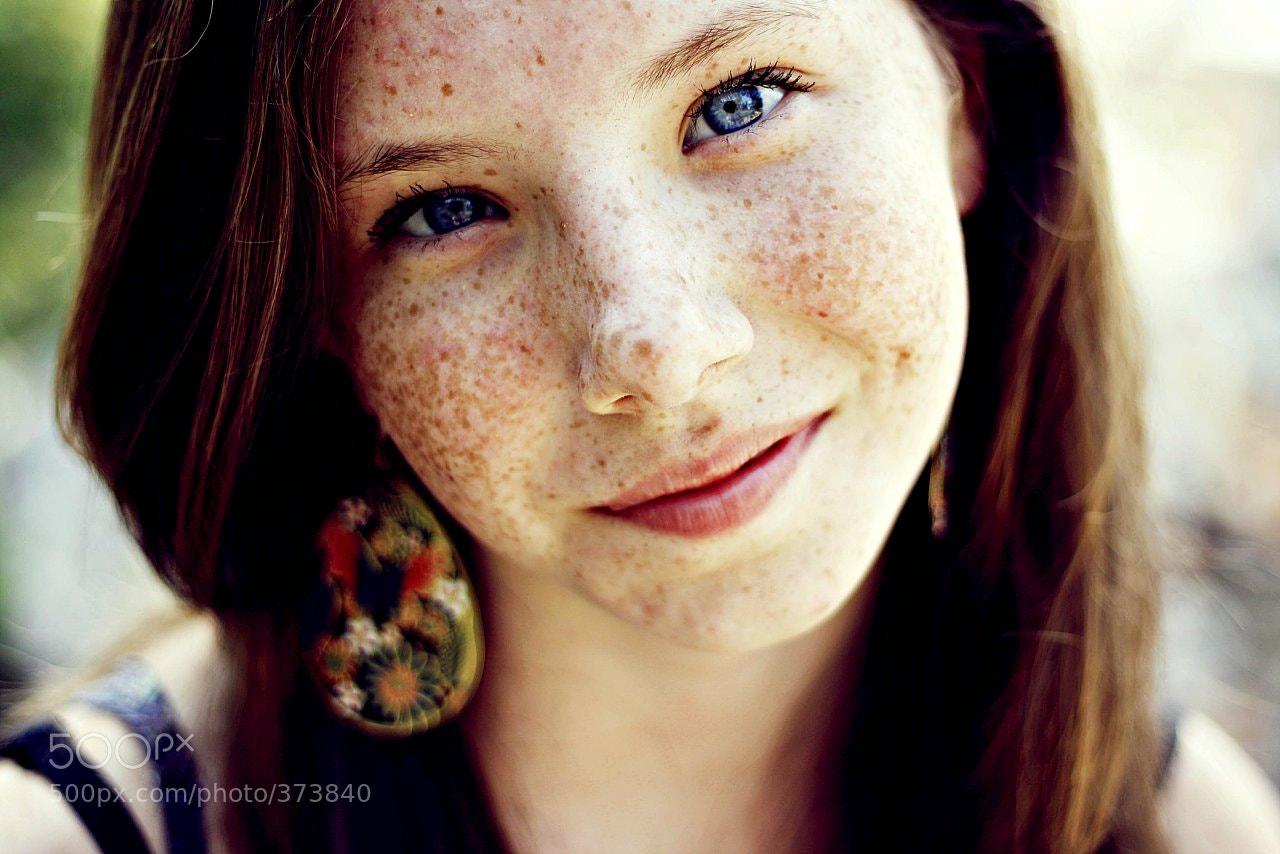 Photograph если веснушки, значит весна  by Mariia Bukina on 500px