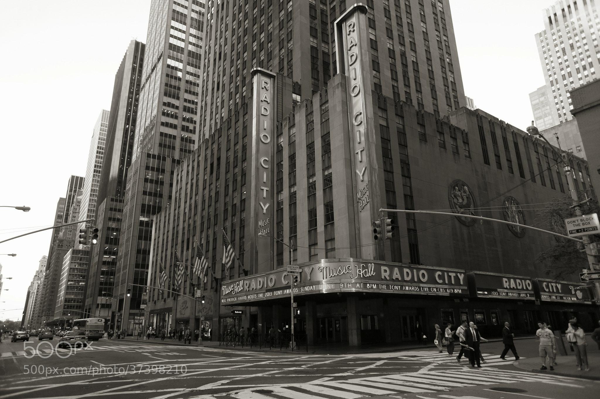 Photograph Radio City by Gavin Gordon  on 500px