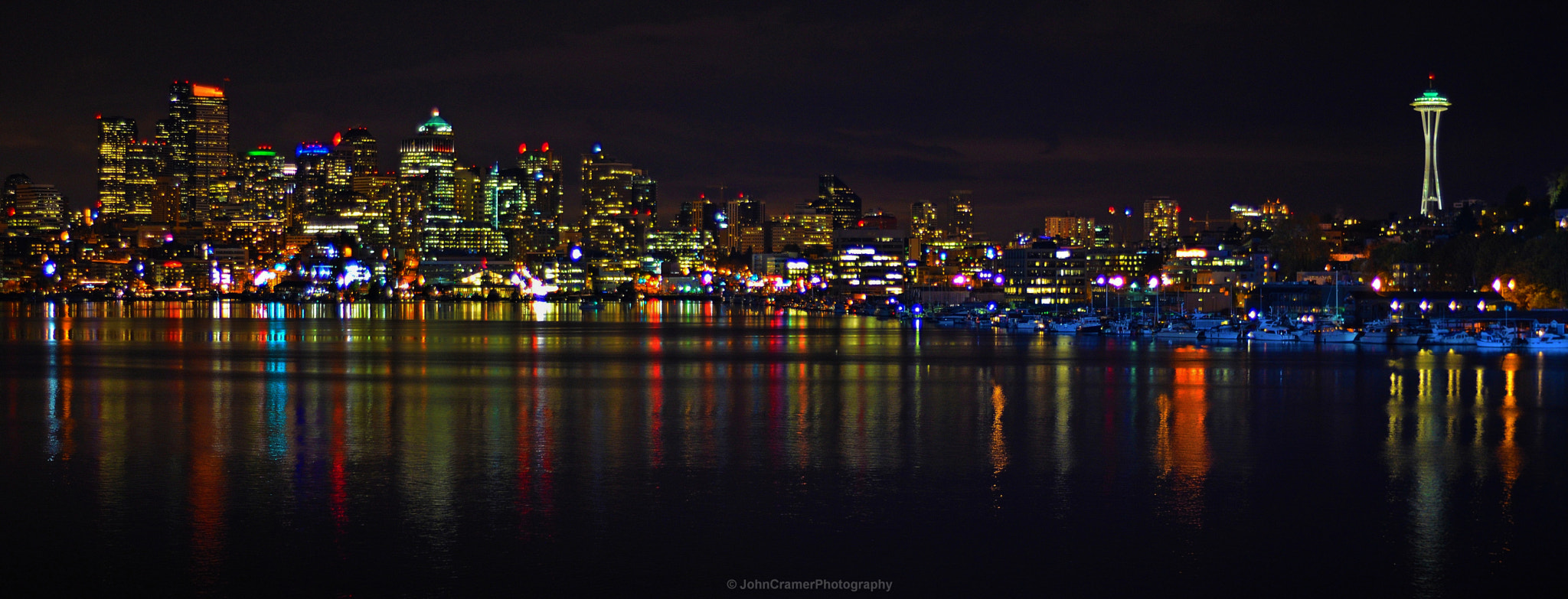 Photograph Seattle Cityscape Panorama by John Cramer on 500px