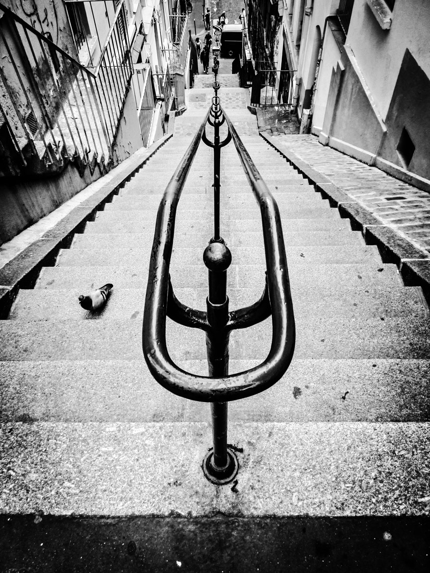 Photograph Stairs Montmartre by Florian Bonhoure on 500px