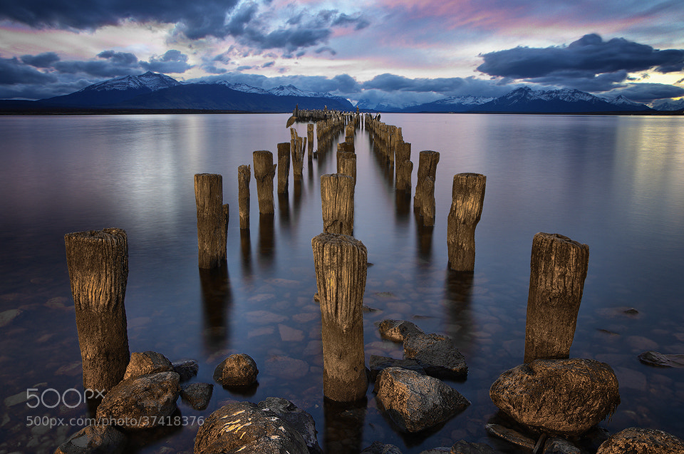 Photograph Puerto Natales Pier by Jimmy Mcintyre on 500px