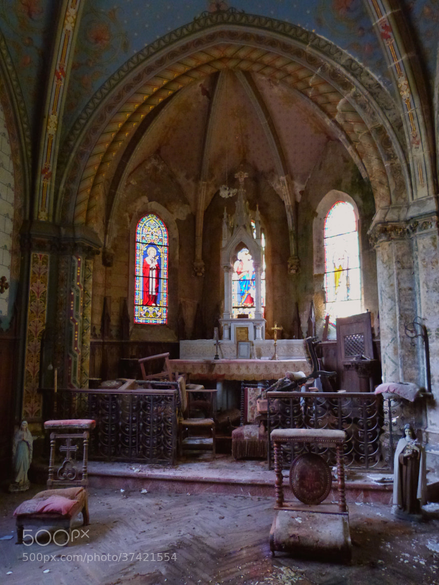 Photograph Old abandoned church by Florence Guichard on 500px