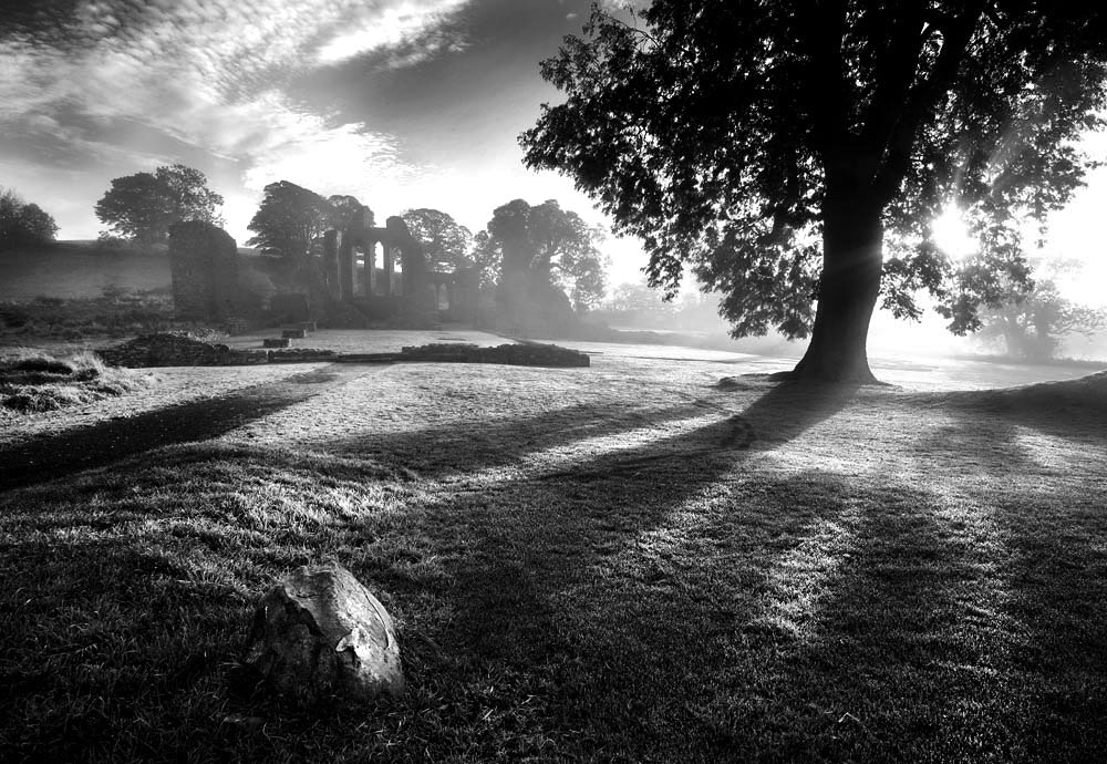 Photograph  Inch Abbey by Stephen Emerson on 500px
