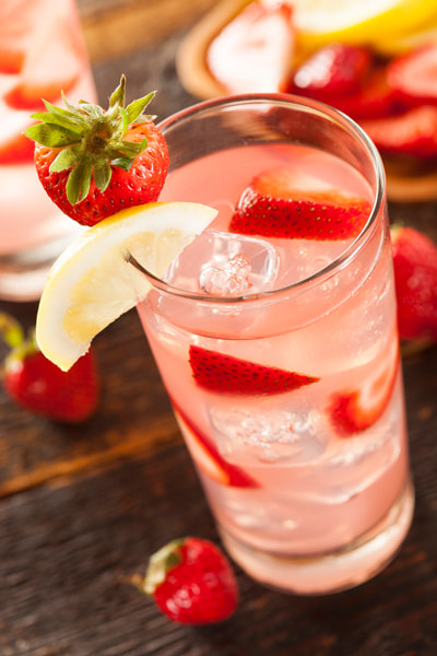 Photograph Refreshing Ice Cold Strawberry Lemonade by Brent Hofacker on 500px