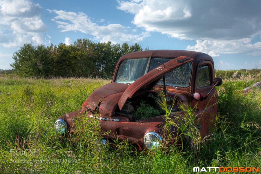 Photograph Vintage Dodge Fargo by Matt Dobson on 500px
