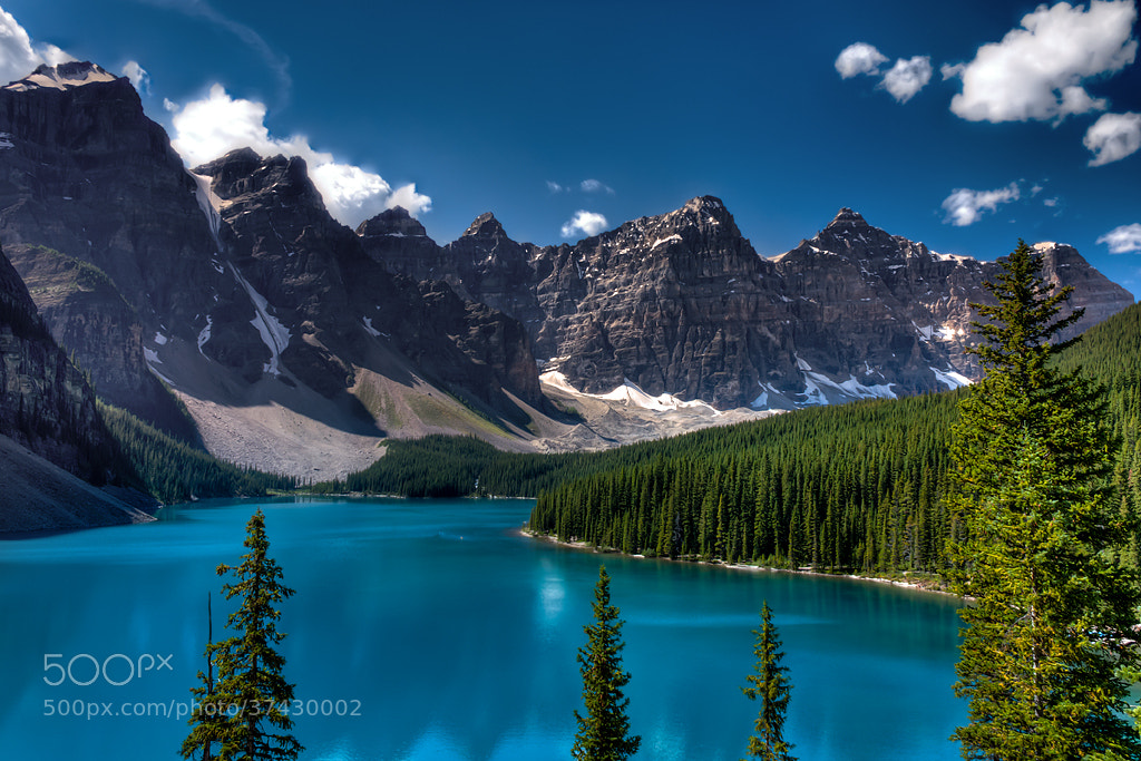 Photograph Moraine Lake by Matt Dobson on 500px