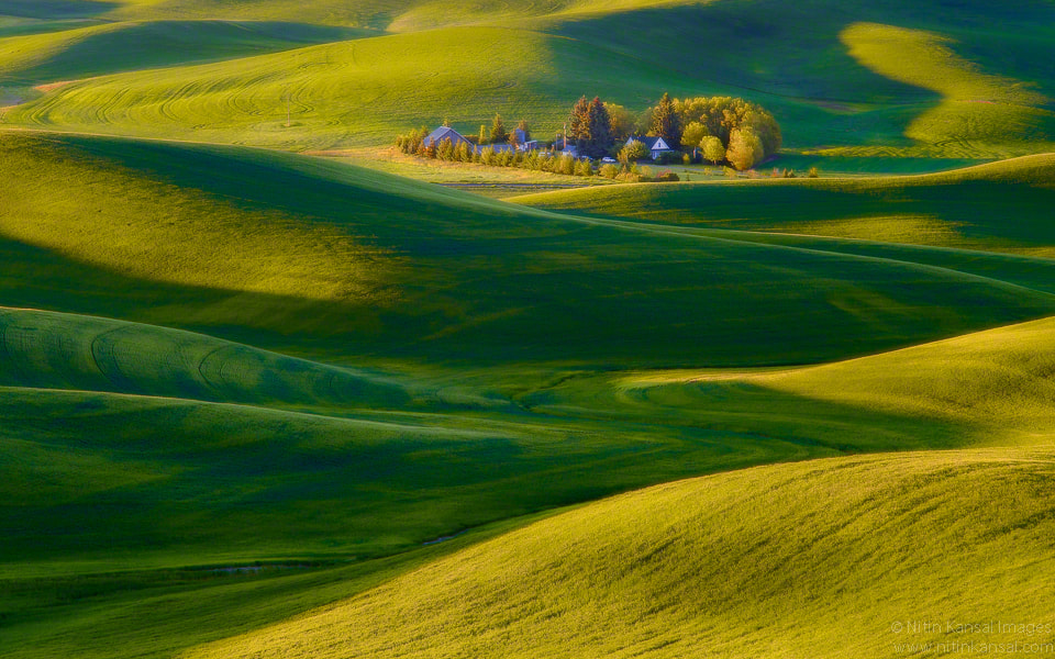 Photograph Ranch in Rolling hills by Nitin Kansal on 500px