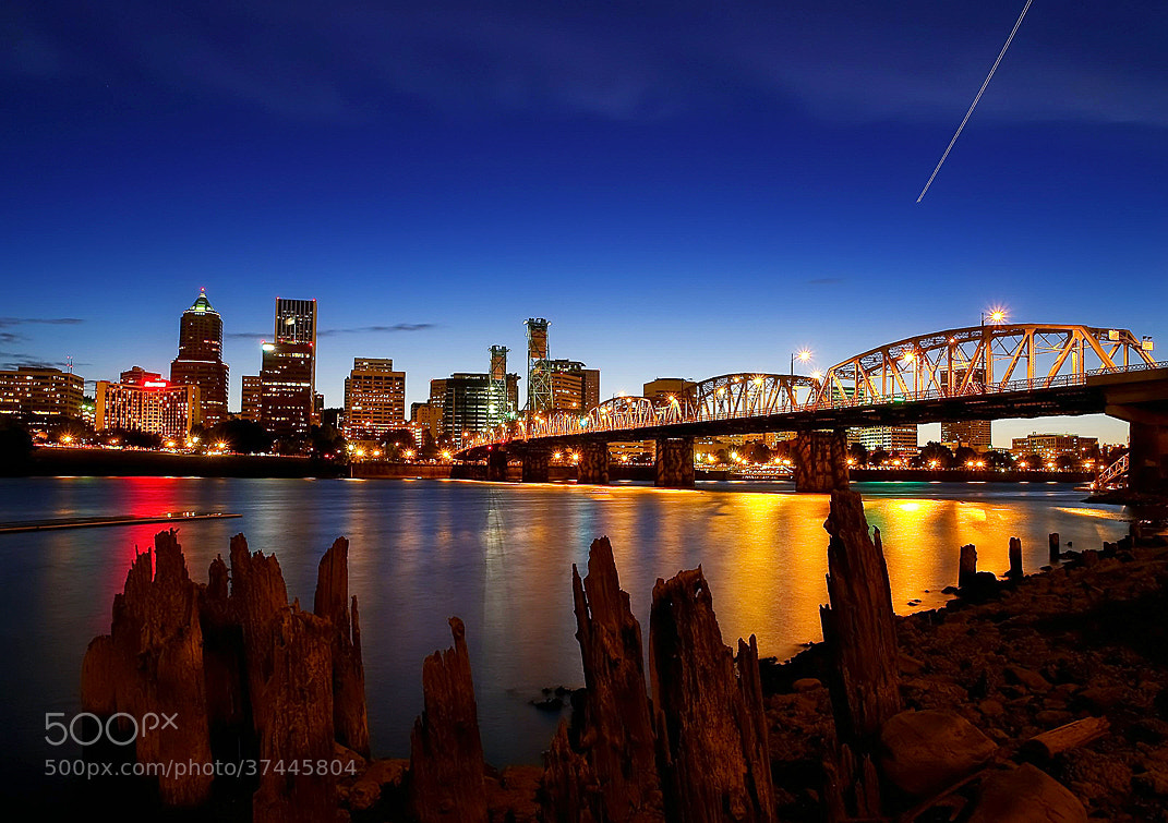 Photograph Downtown Portland by Christina Angquico on 500px