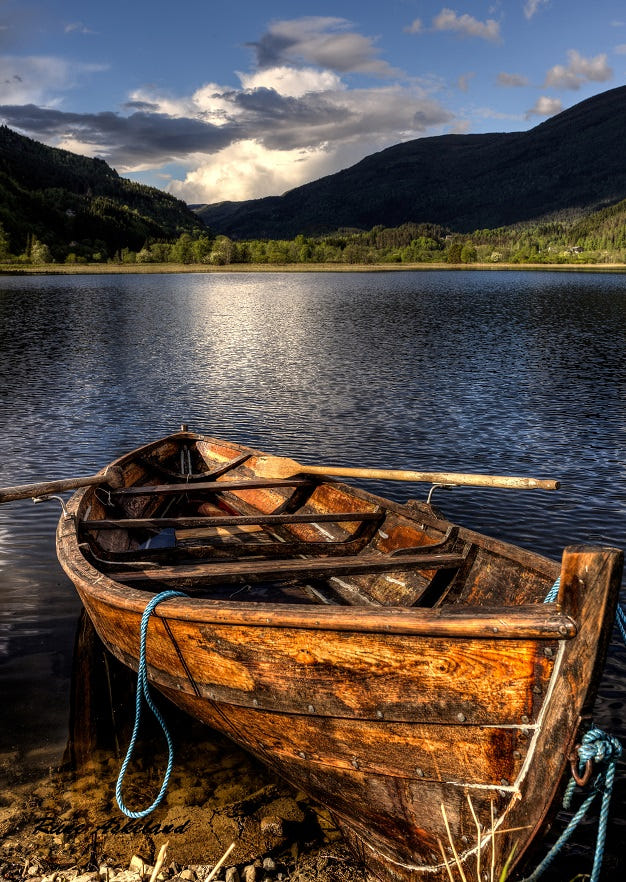 Old Boat By Rune Askeland / 500px