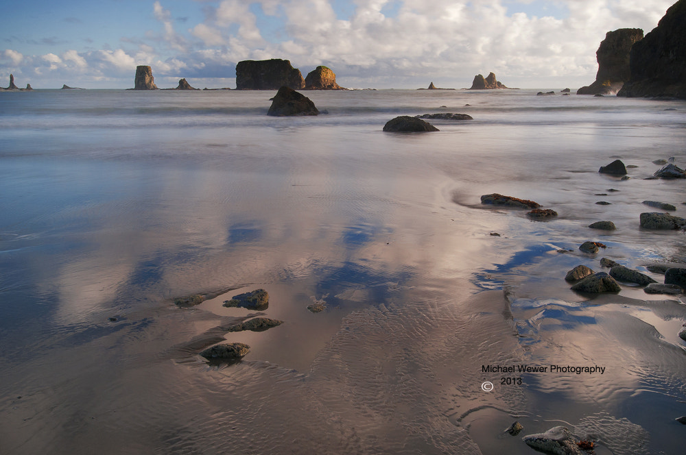 Photograph Tide Pools & Clouds by Michael Wewer on 500px