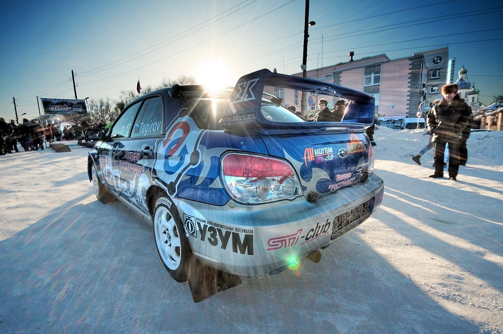 Photograph Subaru Rally Car by Саша Черный on 500px
