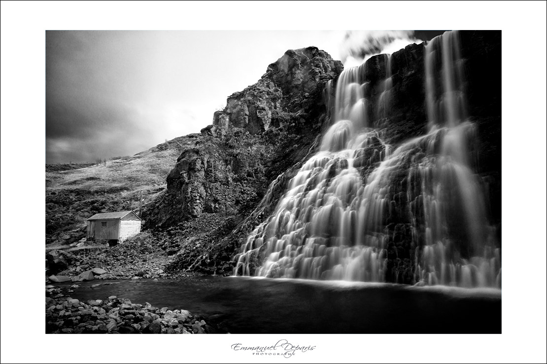 Photograph Water Fall  & the house by Emmanuel Deparis on 500px