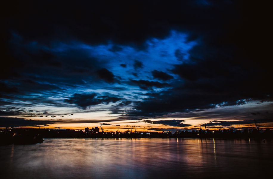 Photograph River Angara. evening  by Dima Ave on 500px