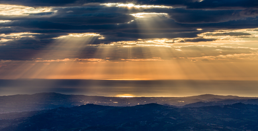 Photograph Morning light over Adriatic Sea by Hans Kruse on 500px
