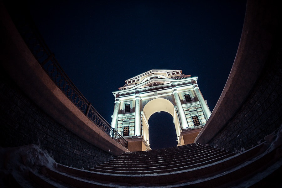 Photograph Irkutsk. some fisheye by Dima Ave on 500px