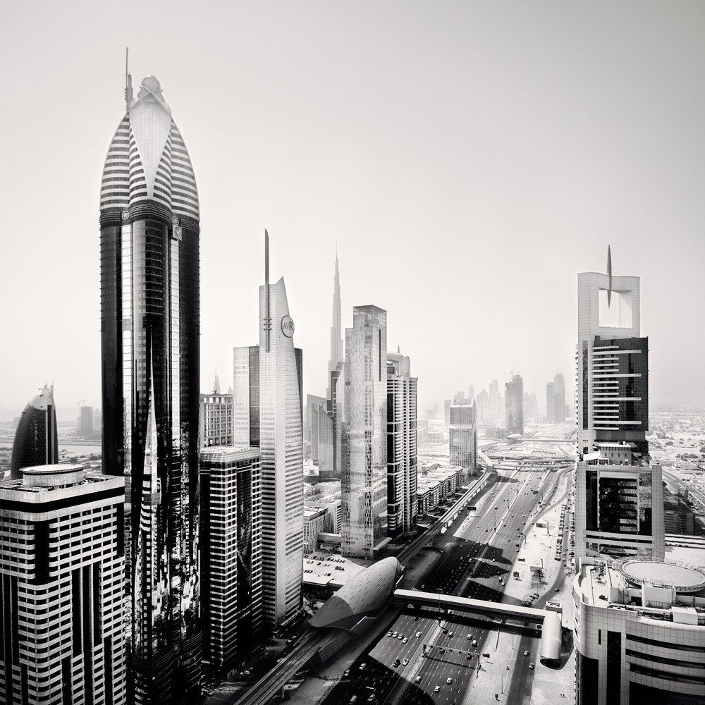 Photograph Sheikh Zayed Road II,#571 U.A.E 2011 by Ronny Ritschel on 500px