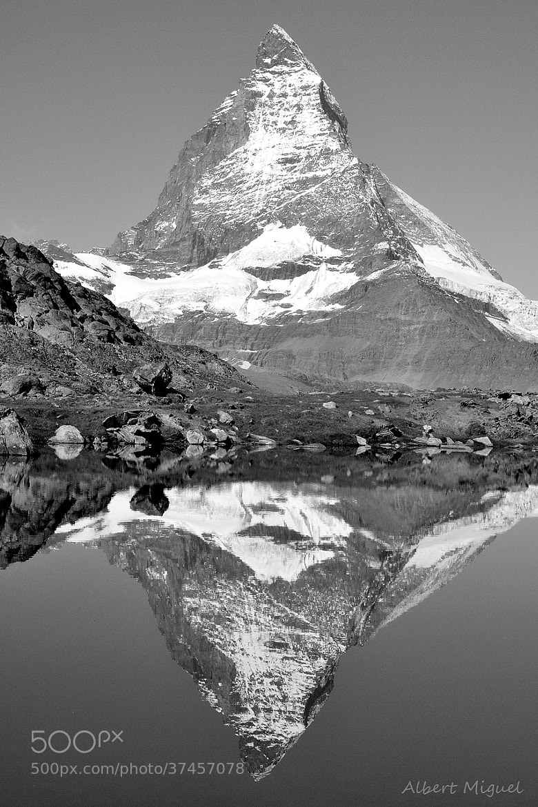 Photograph Matterhorn by Albert Miguel on 500px