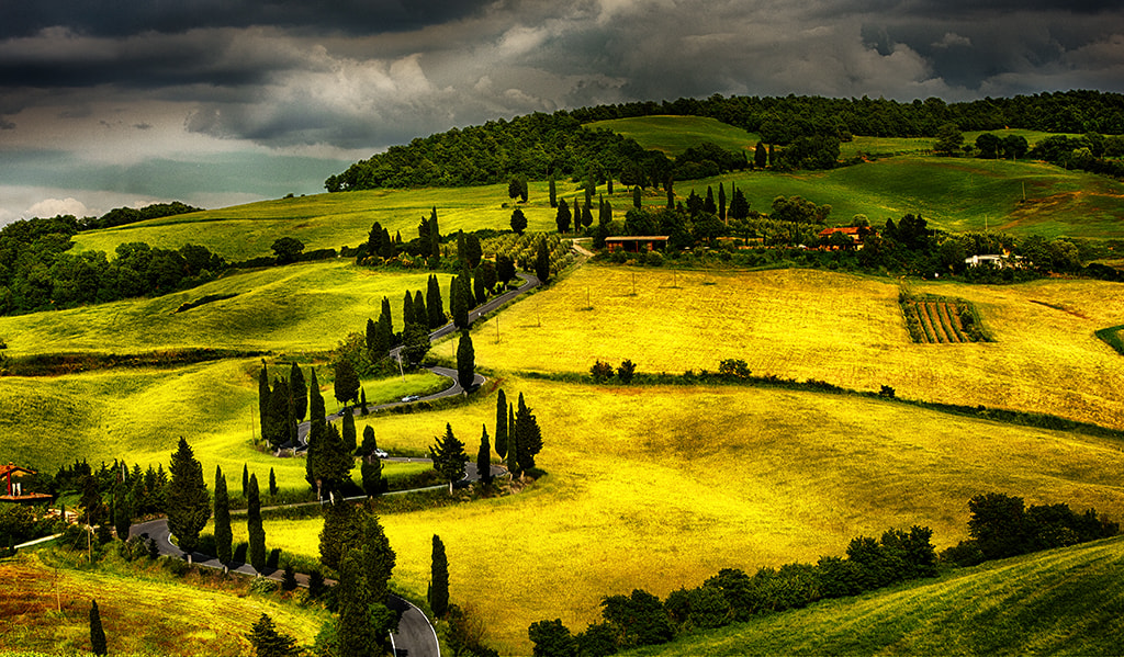 Photograph Streets of Tuscany by Giuseppe De Luccia on 500px