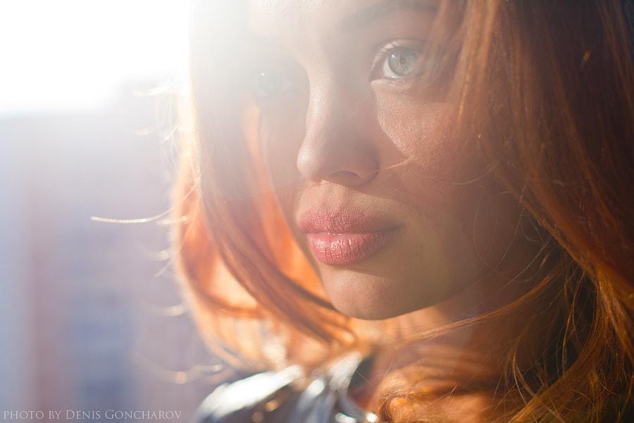 sunshine portreit by Denis Goncharov on 500px.com