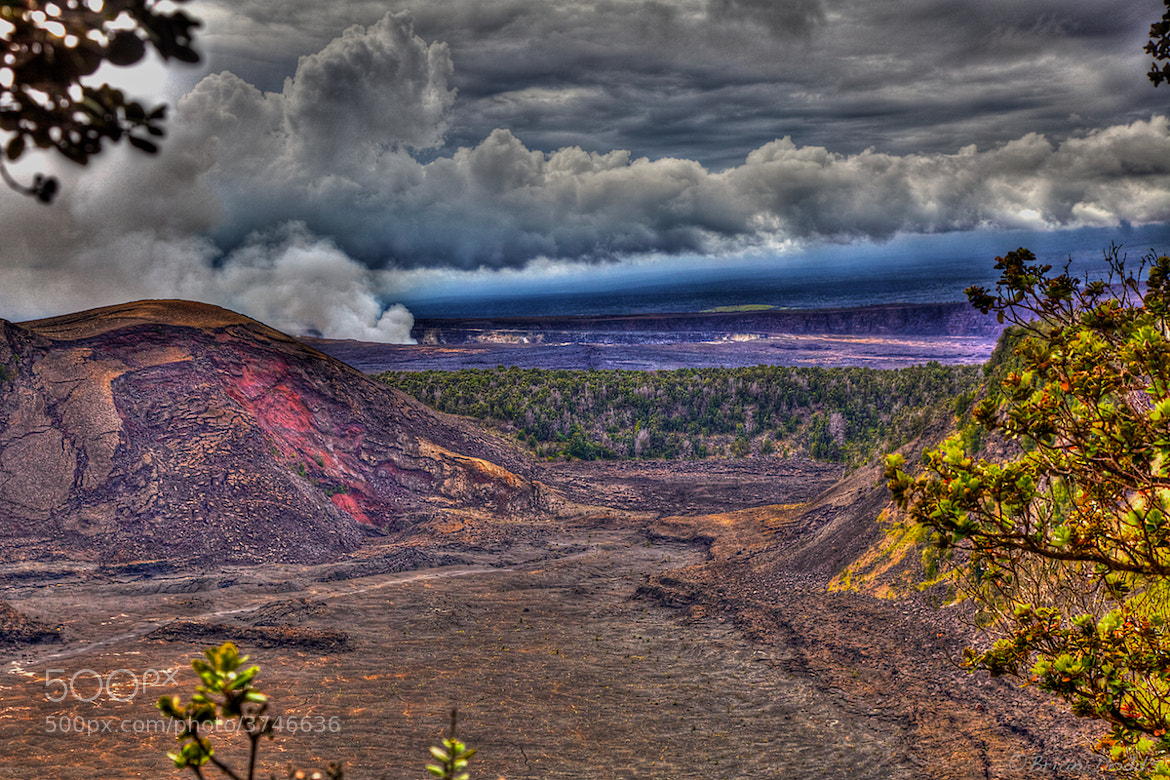 Photograph Volcano HDR by Brian Dodds on 500px