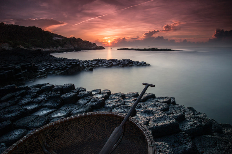 Photograph Sunrise at Ganh Da Dia by MINH LE on 500px