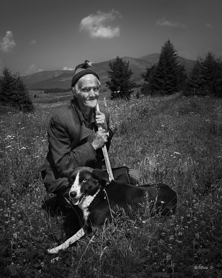 Photograph A story for old man and his dog  by Silvia S. on 500px